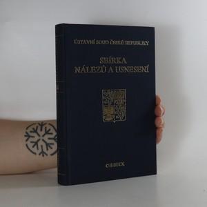 náhled knihy - Ústavní soud České republiky. Sbírka nálezů a usnesení. Svazek 14. (obsahuje disketu)