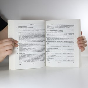 antikvární kniha SEC Handbook Securities Act of 1933. Volume I (1995) , 1995