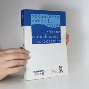 náhled knihy - Osnova občanského zákoníku