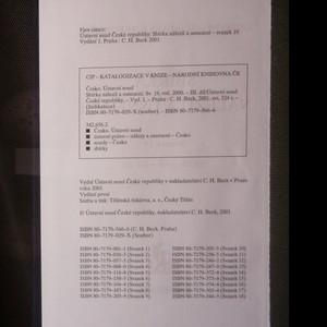 antikvární kniha Ústavní soud České republiky. Sbírka nálezů a usnesení. Svazek 19., 2001