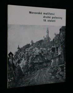 náhled knihy - Moravské malířství druhé poloviny 19. století