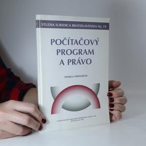 náhled knihy - Počítačový program a právo