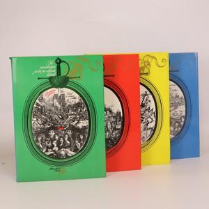 náhled knihy - Tři mušketýři (4 svazky, komplet, viz foto)