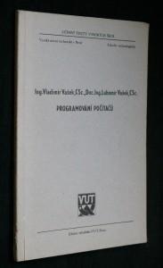 náhled knihy - Programování počítačů : Určeno pro posl. fak. technologické
