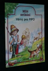 náhled knihy - Věrný pes Pipo