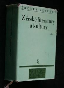 náhled knihy - Z české literatury a kultury : 1860-1960
