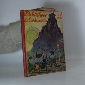 náhled knihy - Petrklíčkovo dobrodružství
