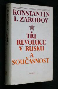 náhled knihy - Tři revoluce v Rusku a současnost
