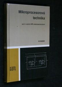 náhled knihy - Mikroprocesorová technika : učebnice pro 3. roč. SPŠ elektrotechn.
