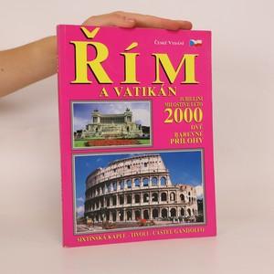 náhled knihy - Řím a Vatikán