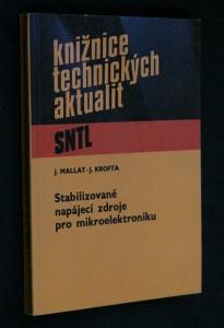 náhled knihy - Stabilizované napájecí zdroje pro mikroelektroniku
