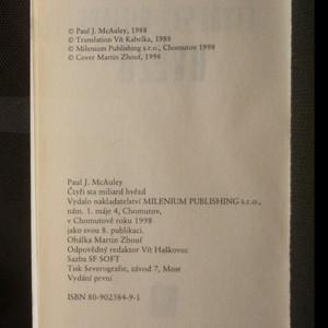 antikvární kniha Čtyři sta miliard hvězd, 1998