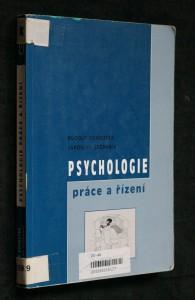 náhled knihy - Psychologie práce a řízení