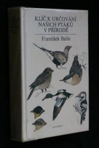 náhled knihy - Klíč k určování našich ptáků v přírodě