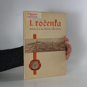 náhled knihy - I. ročenka městského musea, okresního a městského archivu v Třebíči
