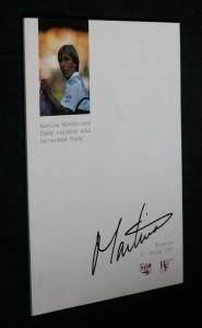 náhled knihy - Martina Navrátilová, Český tenisový svaz, Harvardské fondy