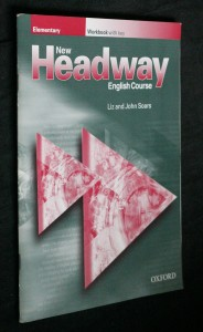 náhled knihy - New headway elementary wordbook