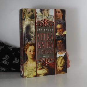 náhled knihy - Velká kniha o jménech