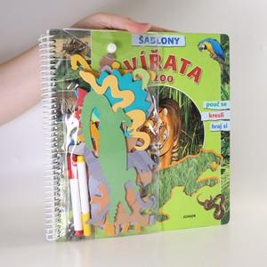 náhled knihy - Zvířata v ZOO. Šablony