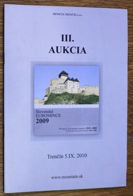 náhled knihy - III. Aukcia - Trenčín 5. IX. 2010