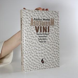 náhled knihy - Abecedarium vini (slovensky)
