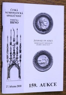 náhled knihy - 159. Aukce 27. 3. 2010 - Brno