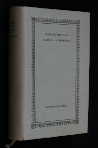 náhled knihy - Paměti a vzpomínky