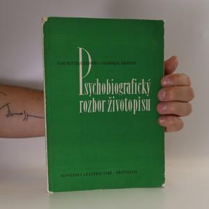 náhled knihy - Psychobiografický rozbor životopisu