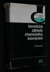 náhled knihy - Teoretické základy chemického inženýrství