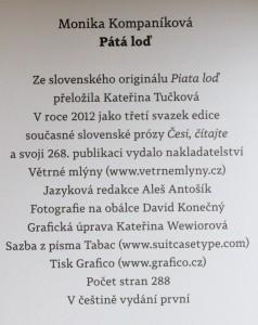 antikvární kniha Pátá loď, 2012