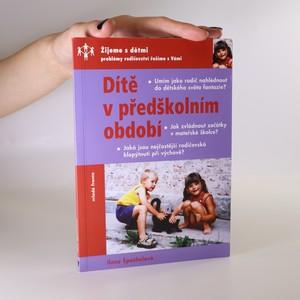 náhled knihy - Dítě v předškolním období