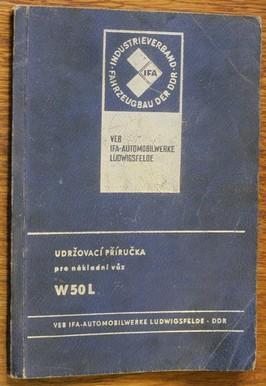 náhled knihy - Udržovací příručka pro nákladní vůz W50L