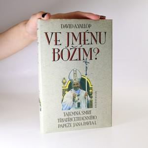 náhled knihy - Ve jménu Božím?
