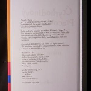 antikvární kniha Čtyřhodinový pracovní týden. Nemarněte celé dny v práci, žijte kdekoli a staňte se