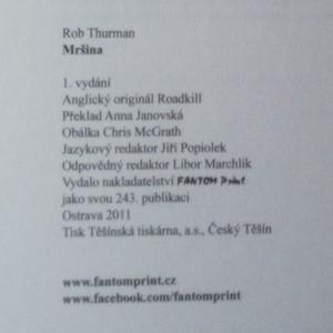 antikvární kniha Mršina. Cal a Niko Leandrosovi. 5. díl, 2011