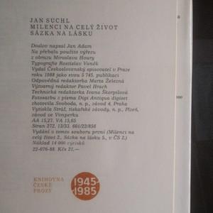 antikvární kniha Milenci na celý život. Sázka na lásku (dvě knihy v jednom svazku), 1988