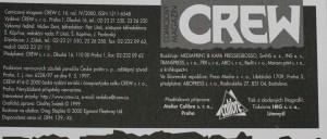 antikvární kniha Crew, číslo 16, ročník IV., 2000
