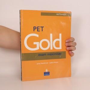 náhled knihy - PET Gold Exam Maximiser with Key (vč. CD)