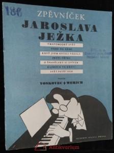 náhled knihy - Zpěvníček Jaroslava Ježka