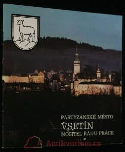náhled knihy - Partyzánské město Vsetín