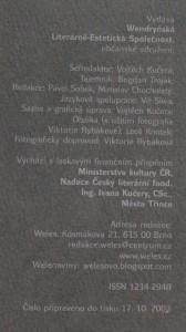 antikvární kniha Weles: Vendryňský poetický magazín, číslo 17, neuveden