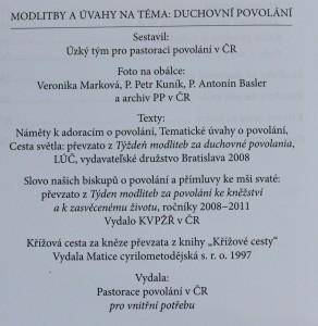 antikvární kniha Duchovní povolání, 1997