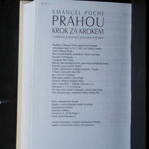 antikvární kniha Prahou krok za krokem, 2001