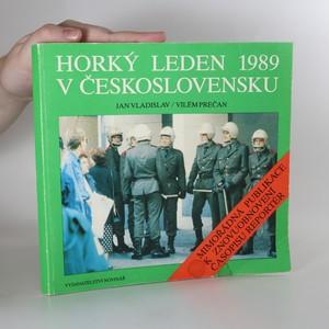 náhled knihy - Horký leden 1989 v Československu