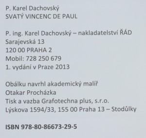 antikvární kniha Svatý Vincenc de Paul, 2013