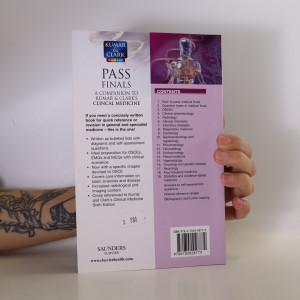 antikvární kniha Pass finals. a companion to Kumar and Clark's. Clinical medicine, 2008