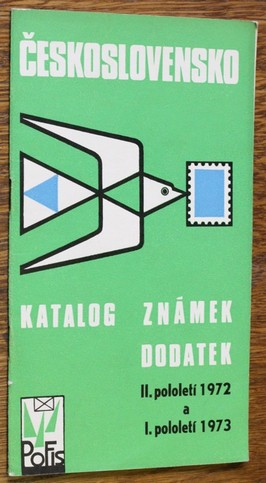 náhled knihy - Československo 1973 : katalog známek : dodatek 2. pololetí 1972 a 1. pololetí 1973