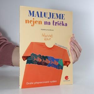 náhled knihy - Malujeme nejen na trička
