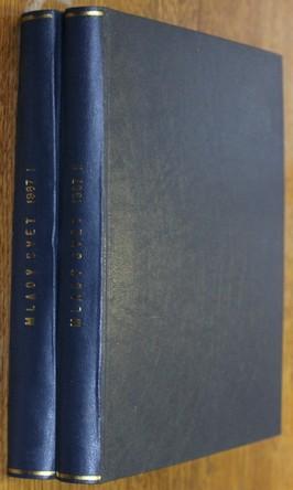 náhled knihy - Mladý svět 1  - 52 (chybí č. 31 a 33) dva svazky