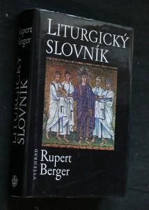 náhled knihy - Liturgický slovník